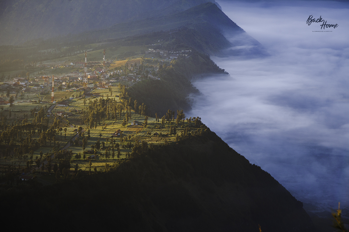 MONTE BROMO AMENECER VOLCAN VIEWPOINT